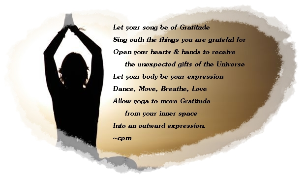 Gratitude poem Cheryl
